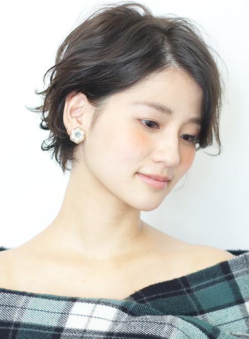 2017大人可愛い☆パーマショート(髪型ショートヘア)