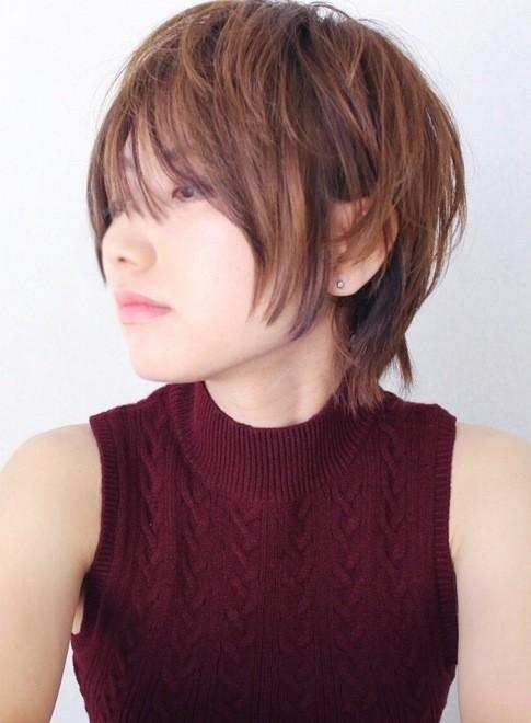 クールなショートヘア(髪型ショートヘア)