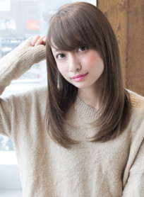 AFLOAT明日香のさらうるストレート(髪型ロング)