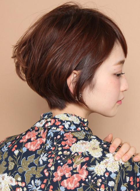 [小顔ショート] 大人の2WAYスタイル(髪型ショートヘア)
