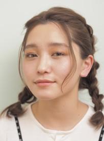 裏編み込み*簡単アレンジ(髪型ミディアム)
