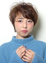"""""""褒められ""""ショートスタイル"""