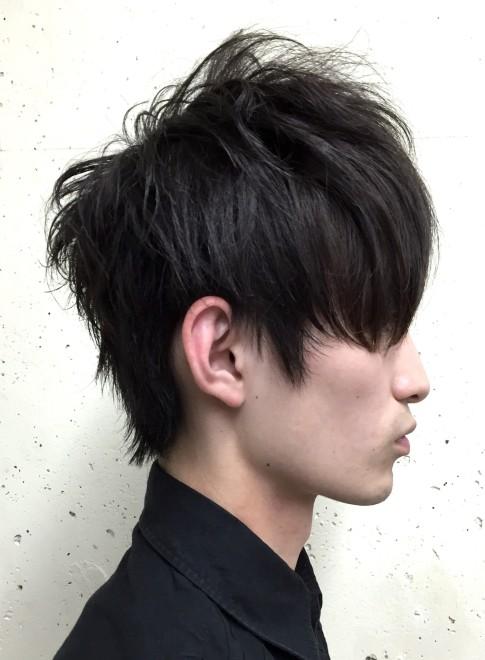 髪型 トップ ボリューム 男