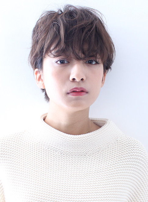 ☆大人のかっこいいショートパーマ☆(髪型ショートヘア)