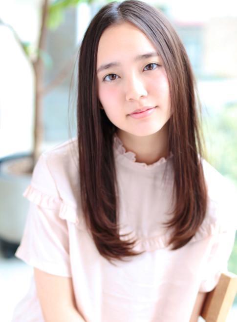 【ナチュラルかわいい】上品ストレート☆(髪型ロング)