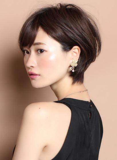 ☆黄金バランス☆大人スウィートショート(髪型ショートヘア)