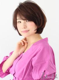 大人ショートボブ(髪型ショートヘア)