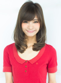 ひし形カットロングスタイル(髪型ロング)
