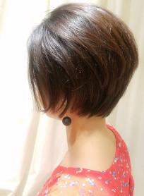 40代50代◎横顔美人な大人ショートボブ(髪型ボブ)