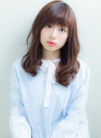 柔らかフェミニンカール(髪型ロング)