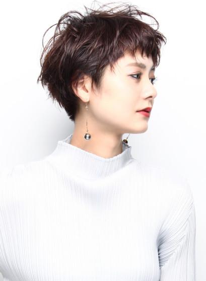 エフォートレスショートヘア(髪型ベリーショート)