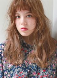 マロンカラー×ふわゆるパーマヘア