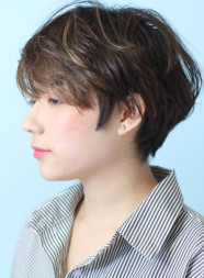 大人の綺麗なショートヘア☆