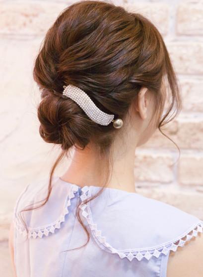 柔らかアップ(髪型ロング)
