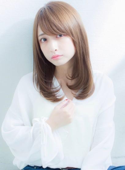 【谷 賢二】大人かわいい小顔セミロング(髪型セミロング)