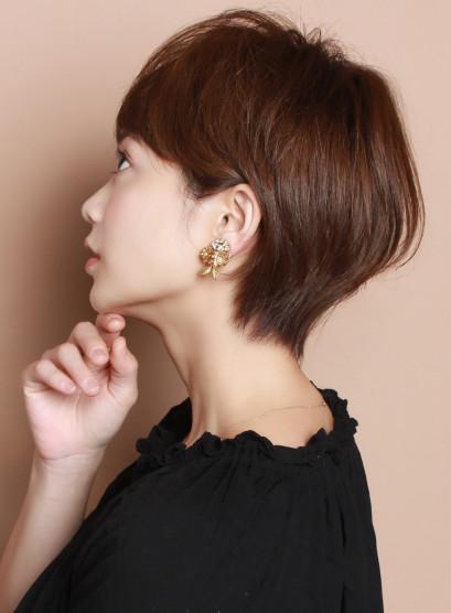 ☆トップのボリュームUP☆ 大人ショート(髪型ショートヘア)