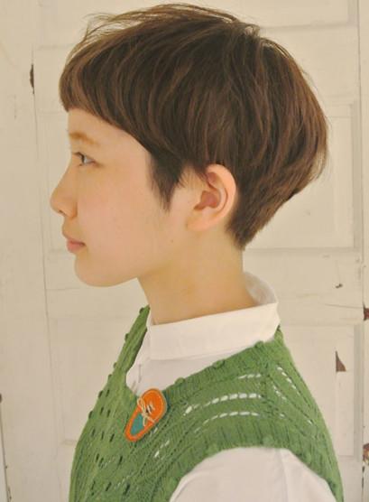 ミニマッシュ*手入れ簡単ママショートヘア(髪型ベリーショート)