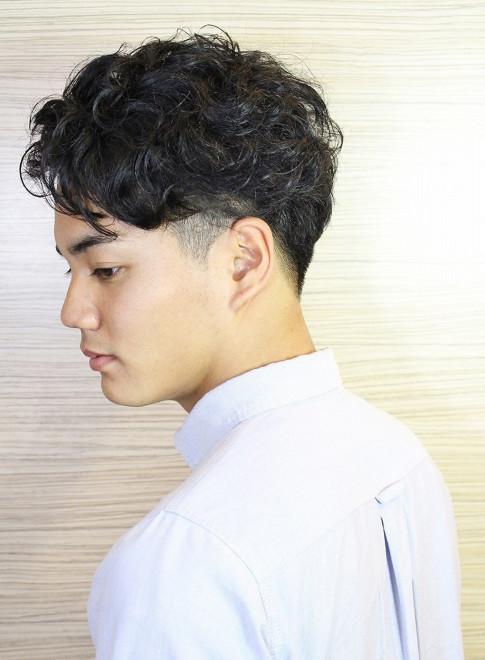 メンズ 髪型 ビジネス 40代 パーマ
