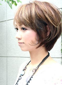 ナチュラル☆ショートボブ(髪型ショートヘア)