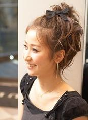パーティーアレンジヘアー(髪型ロング)