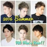 メンズヘアランキング1位スタイル掲載☆2016夏オーダー殺到メンズヘア特集☆