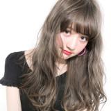 【憧れの髪色♥】色素薄めのグレージュ系でリアル外国人風ヘアに☆