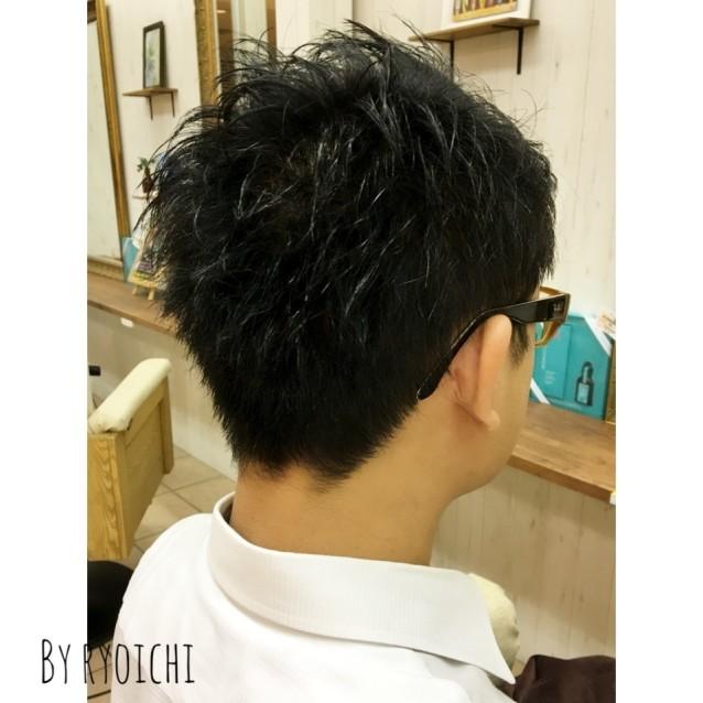 切り 男性 方 髪