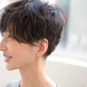 ゆるふわパーマで美人度アップ♥︎30代・40代のショートヘアカタログ