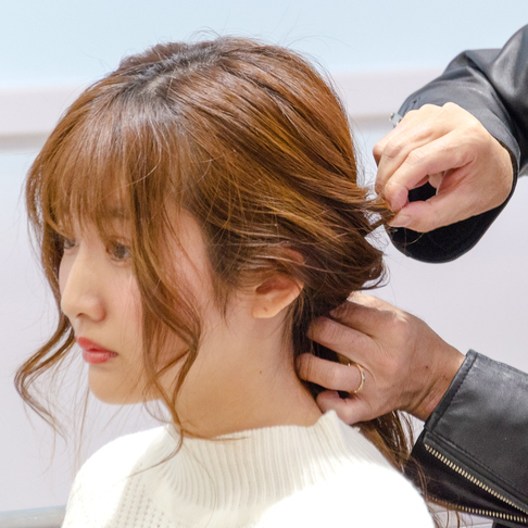 【第8回】BU×BNタイアップ企画!大悟流モテ髪診断&簡単パーティーヘアアレンジ♡