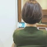 30代40代 女性に人気のお手入れ簡単 ショートボブ 特集!!