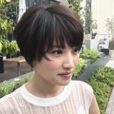 簡単で楽、しかもオシャレ!小顔小頭になる様々なショートヘアをご紹介!!