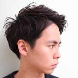 メンズスタイル 前髪でイメージを変える!!