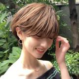 ◇大人可愛い◇顔周りの似合わせカットでつくる小顔バランスショートカット!!