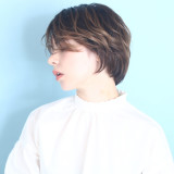 ショートヘアーは横顔が大事!!30代☆40代からの大人のヘアカタログ♡