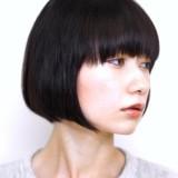 スッキリ綺麗な首もとに☆大人女性のための前下がりボブ6選