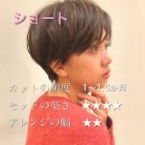 【セット楽々】美シルエット✳︎大人ショート✳︎大人ショートボブ