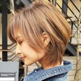 【長めのショートヘア】30歳からの大人ショートカット特集◇