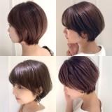 ☆2020秋色カラーのショートヘアにイメチェン☆