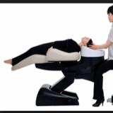 <シャンプー中に首が痛い方へ> 最高品質ベッドタイプのシャンプー台「YUME」を使用