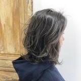 【20代30代40代】伸びてきても気になりにくいハイライトカラー☆白髪ぼかしにも♪