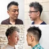 白髪がかっこいい!!!30代・40代・50代の大人の男性にオススメ!!似合う髪型メンズヘアスタイル