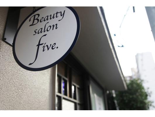 Beauty salon five.(ビューティーナビ)