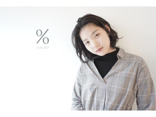% percent(ビューティーナビ)