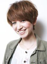 フレンチマッシュショート(髪型ショートヘア)