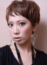 マニッシュ・ベリー・ショート(髪型ショートヘア)