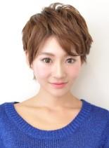 ナチュラルキュートショート(髪型ショートヘア)
