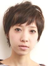 ナチュラル(髪型ショートヘア)