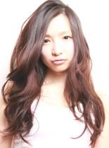 ラフスタイル(髪型ロング)