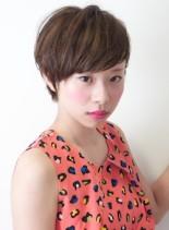 大人かわいいマッシュショート(髪型ショートヘア)