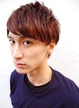 ロックマッシュ(髪型メンズ)